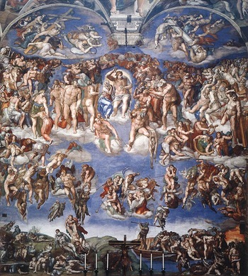 Judgment in the Sistine Chapel