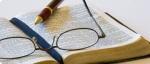 Bible & Eye glasses