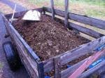 Trailer of manure